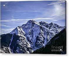 Twilight Peak Colorado Acrylic Print