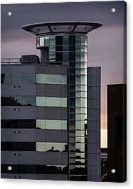 Twilight Reflection - Radisson Plaza Hotel Acrylic Print