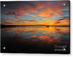 Twilight Reflection Acrylic Print
