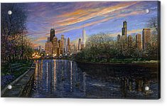 Twilight Serenity Acrylic Print by Doug Kreuger