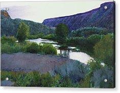Twilight Taos Sold Acrylic Print