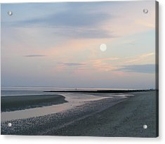 Twilight Time At The Shore Acrylic Print