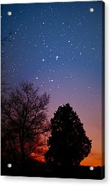 Twilight Transitions Acrylic Print by Charles Warren