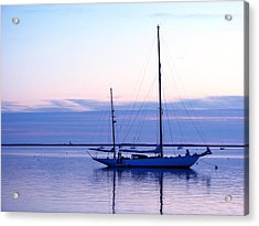 Twilight Voyage Acrylic Print by Jan Cipolla