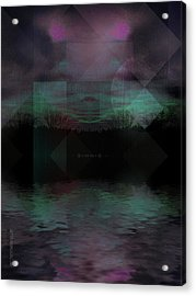 Twilight Zone Acrylic Print by Mimulux patricia no No