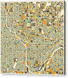 Twin Cities Acrylic Print