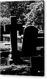 Twin Graves Acrylic Print