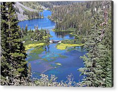 Twin Lakes Eastern Sierra Photography Acrylic Print