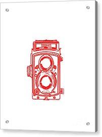 Twin Lens Camera Acrylic Print by Setsiri Silapasuwanchai