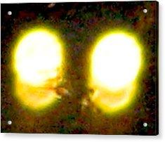 Twin Lights Acrylic Print by Stephen Hawks