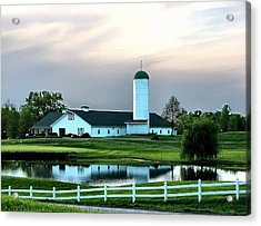 Twin Oaks Farm Acrylic Print