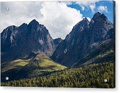 Twin Peaks In Mid-summer Acrylic Print