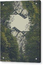 Twin Peaks Acrylic Print by Thubakabra
