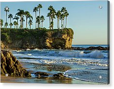 Twin Points Crescent Bay Acrylic Print