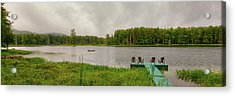 Acrylic Print featuring the photograph Twin Ponds Landscape by David Patterson