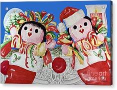 Twin Stockings Acrylic Print