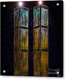 Twin Towers Of Freedom Acrylic Print by David Lee Thompson