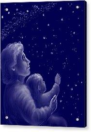 Twinkle Twinkle Little Star Acrylic Print by Dawn Senior-Trask
