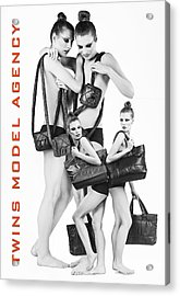 Twins Model Agency Acrylic Print