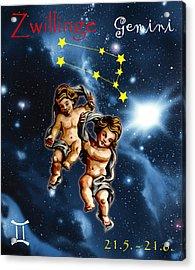 Twins Of Heaven Acrylic Print