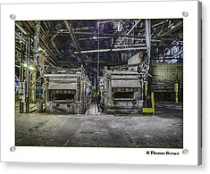 Acrylic Print featuring the photograph Twins by R Thomas Berner