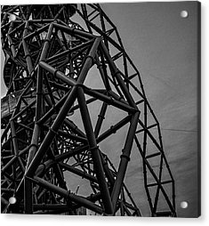 Twisted Metal Acrylic Print by Martin Newman