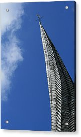 Twisted Spire Acrylic Print by Cathy Weaver