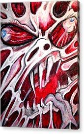 Twistedhead Acrylic Print by Sam Hane