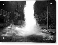 Twister In The Neighborhood Acrylic Print by David Lee Thompson