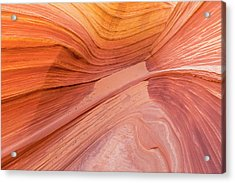 Twists And Turns In Navajo Sandstone Acrylic Print by Tim Grams