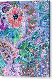 Twisty Acrylic Print by Anne-Elizabeth Whiteway