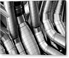 Twisty Tubes Acrylic Print
