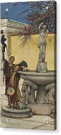 Twixt Venus And Bacchus Acrylic Print
