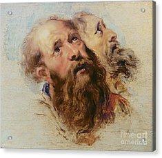 Two Apostles Acrylic Print by Rubens