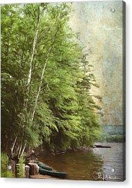 Two Birches Acrylic Print