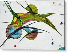 Two Birds Acrylic Print by Mudrow S