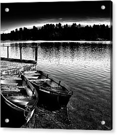 Acrylic Print featuring the photograph Two Boats by David Patterson