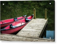 Two Canoes Acrylic Print