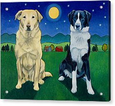 Two Dog Night Acrylic Print