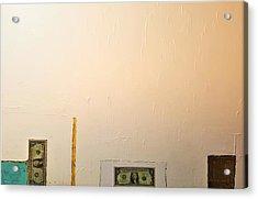 Two Dollars . Acrylic Print