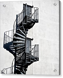 Two Doors Acrylic Print by Odd Jeppesen