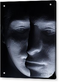 Two Faced Shadow Acrylic Print
