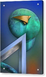 Acrylic Print featuring the photograph One Forty Seven by Paul Wear