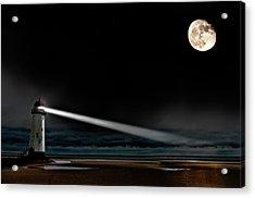 Two Guiding Lights Acrylic Print by Meirion Matthias