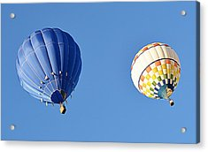 Acrylic Print featuring the photograph Two High In The Sky by AJ Schibig
