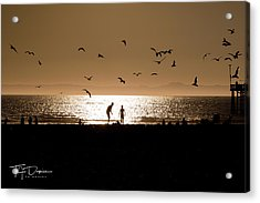 Two In Sun Acrylic Print