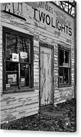 Two Lights Storefront Acrylic Print