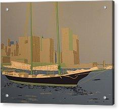 Two Masts Acrylic Print by Biagio Civale