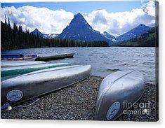 Two Medicine Lake Acrylic Print by Idaho Scenic Images Linda Lantzy