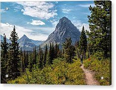 Two Medicine Valley Acrylic Print